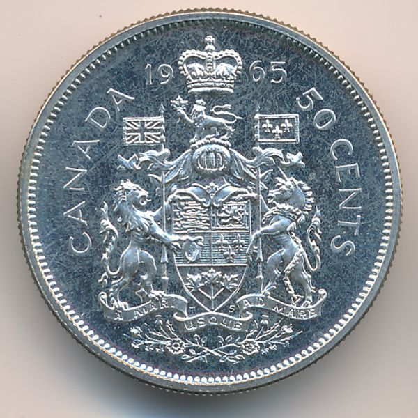 Канада, 50 центов (1965 г.)