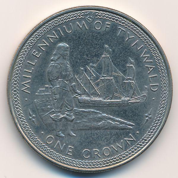 Остров Мэн, 1 крона (1979 г.)