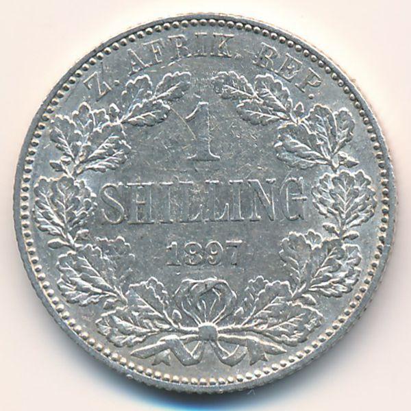 ЮАР, 1 шиллинг (1897 г.)