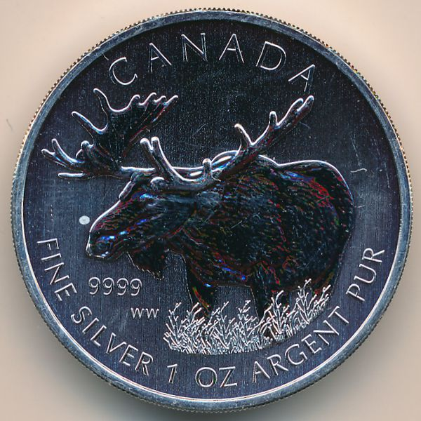 Канада, 5 долларов (2012 г.)