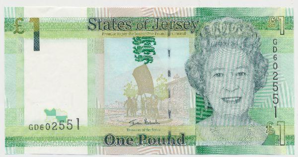 Джерси, 1 фунт (2010 г.)