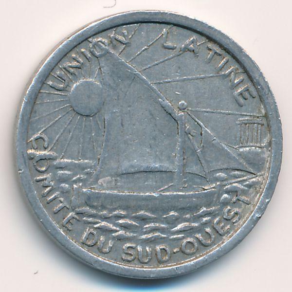 Тулуза., 25 сентим (1922 г.)