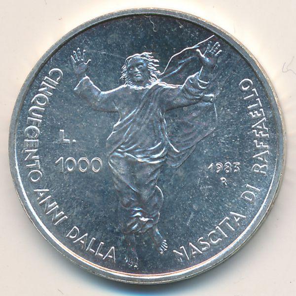 Сан-Марино, 1000 лир (1983 г.)