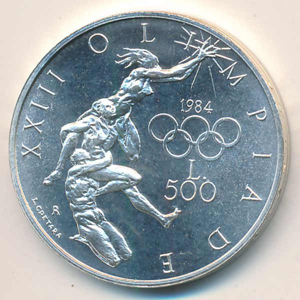Сан-Марино, 500 лир (1984 г.)