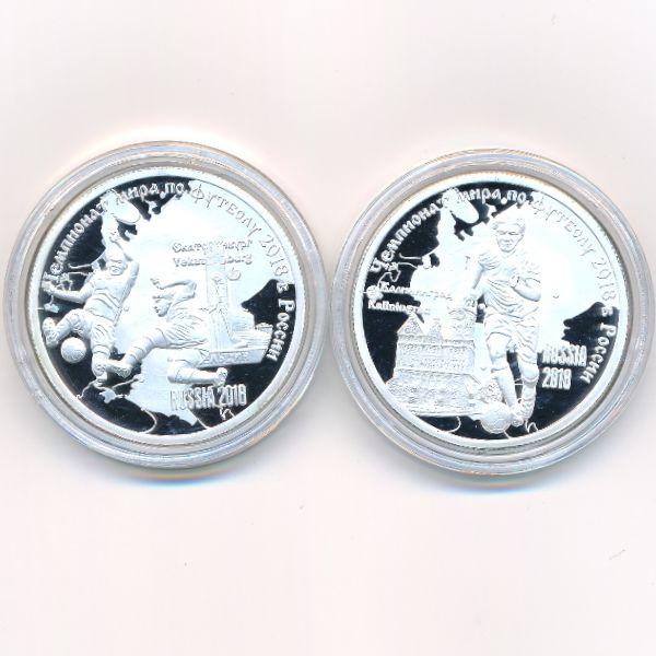 Камерун, Набор монет (2017 г.)