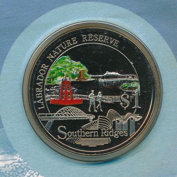Сингапур, 1 доллар (2008 г.)