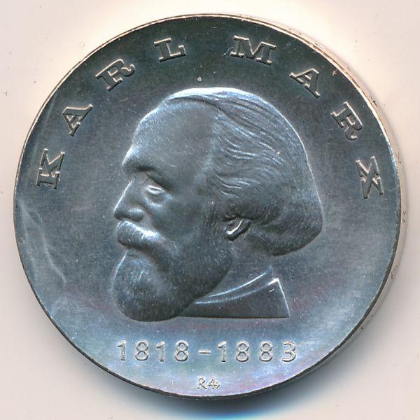 ГДР, 20 марок (1968 г.)
