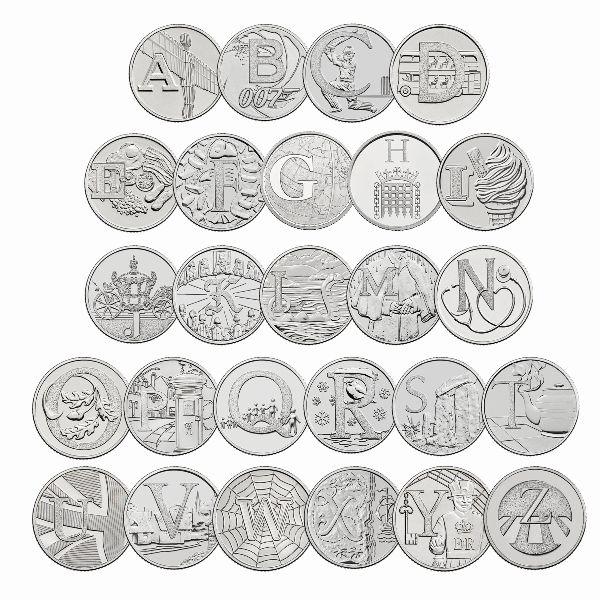 Великобритания, Набор монет (2019 г.)
