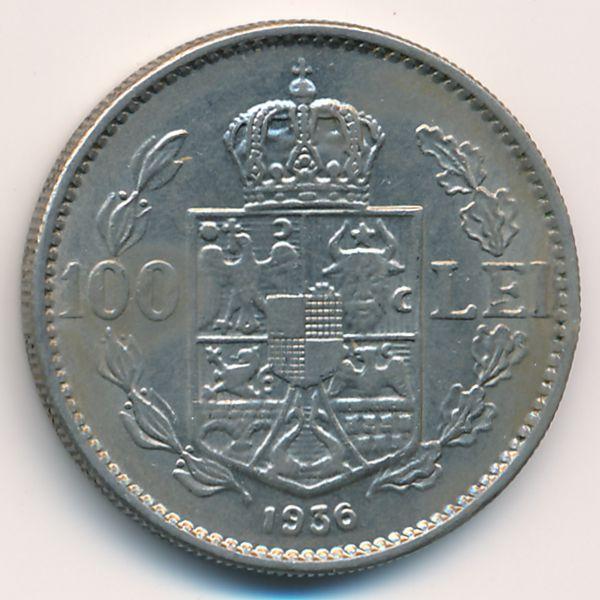 Румыния, 100 леев (1936 г.)