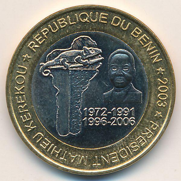 Бенин, 6000 франков КФА (2003 г.)