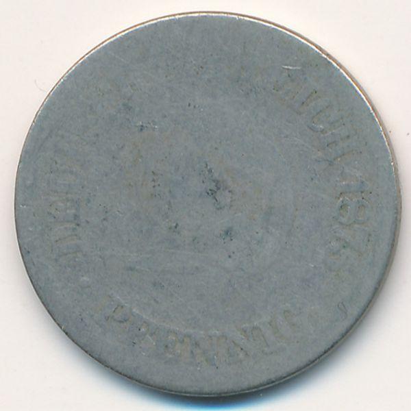 Германия, 10 пфеннигов (1875 г.)