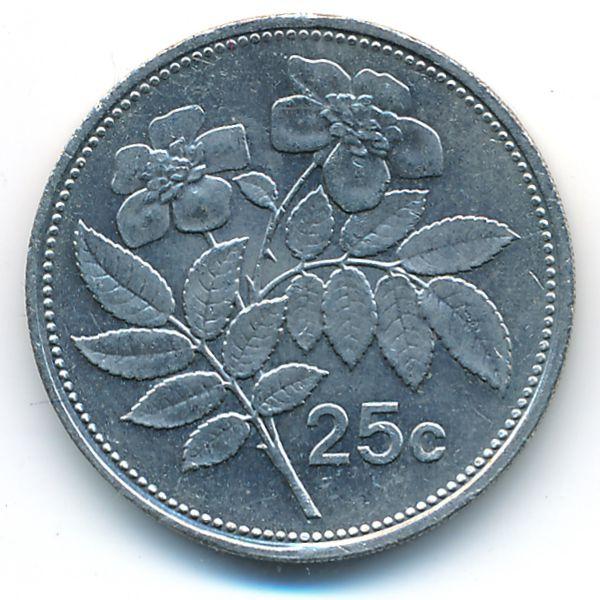 Мальта, 25 центов (1995 г.)