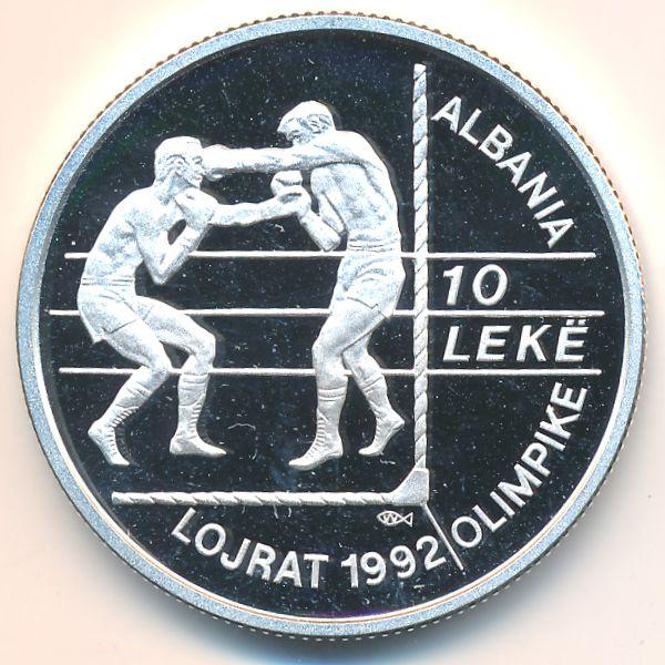 Албания, 10 лек (1992 г.)