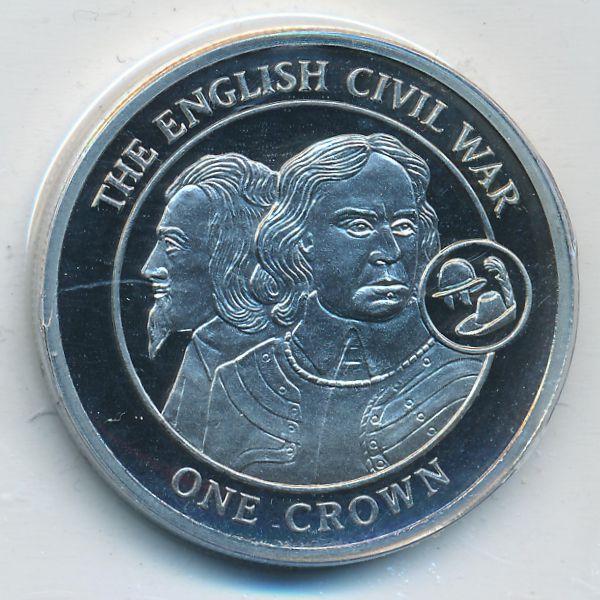 Гибралтар, 1 крона (2008 г.)