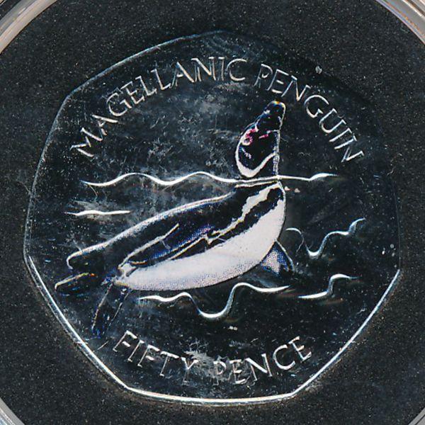 Фолклендские острова, 50 пенсов (2017 г.)