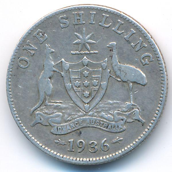 Австралия, 1 шиллинг (1936 г.)