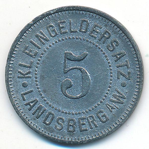 Ландсберг-на-Варте., 5 пфеннигов