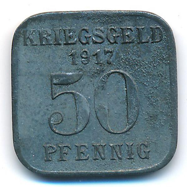 Мюльхайм., 50 пфеннигов (1917 г.)