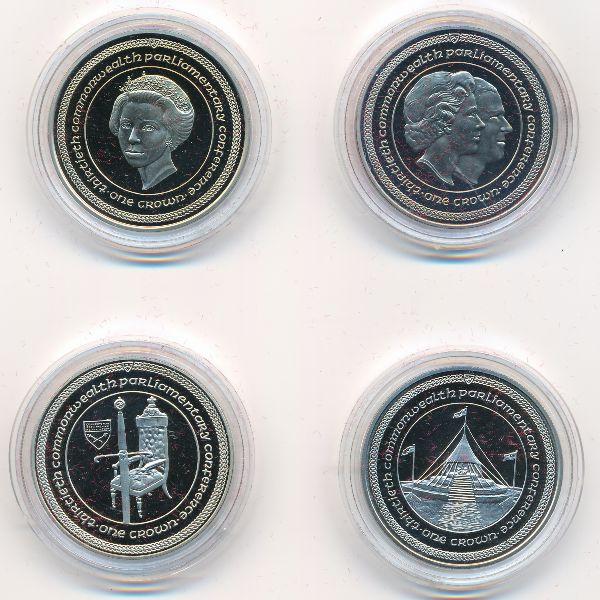 Остров Мэн, Набор монет (1984 г.)