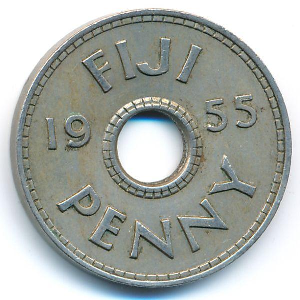Фиджи, 1 пенни (1955 г.)