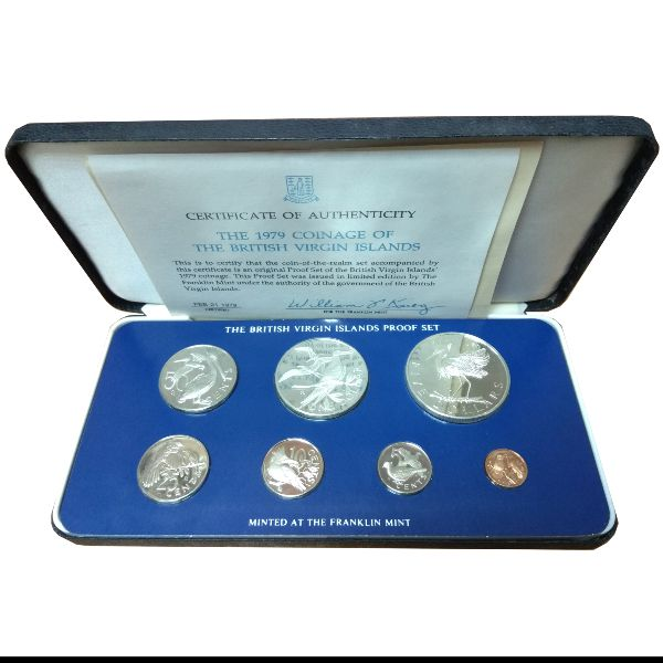Виргинские острова, Набор монет (1979 г.)