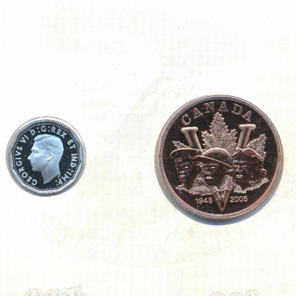 Канада, 5 центов (2005 г.)