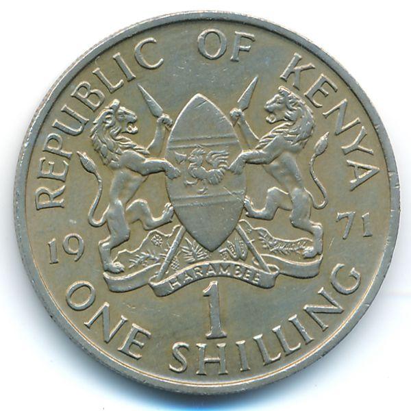 Кения, 1 шиллинг (1971 г.)