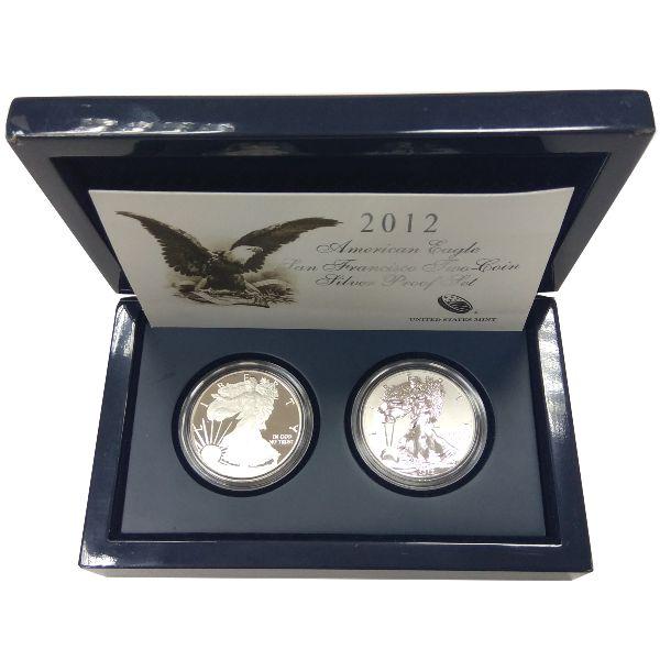 США, Набор монет (2012 г.)