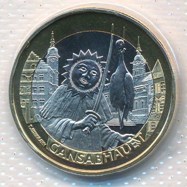 Швейцария, 10 франков (2014 г.)