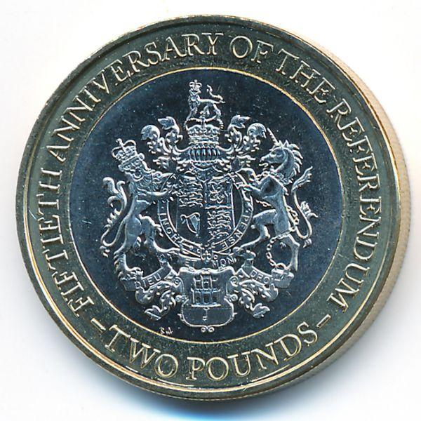 Гибралтар, 2 фунта (2017 г.)