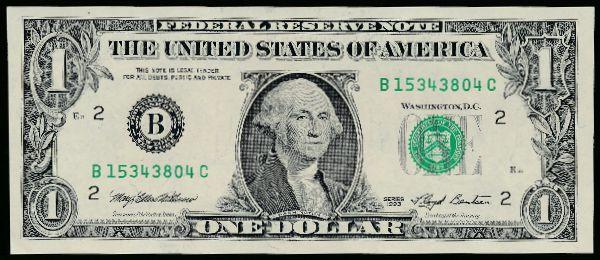 США, 1 доллар (1993 г.)