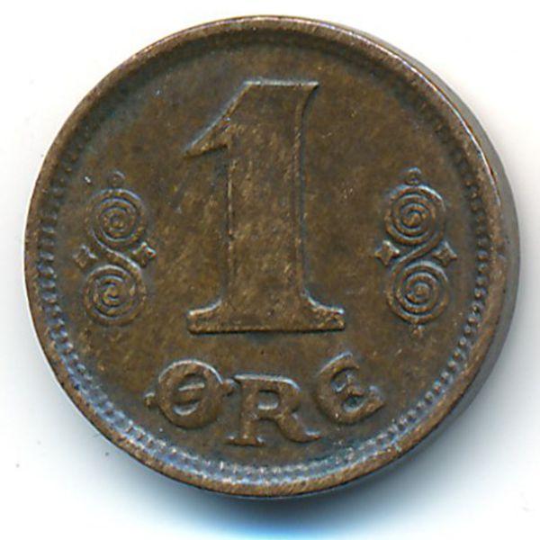 Дания, 1 эре (1916 г.)