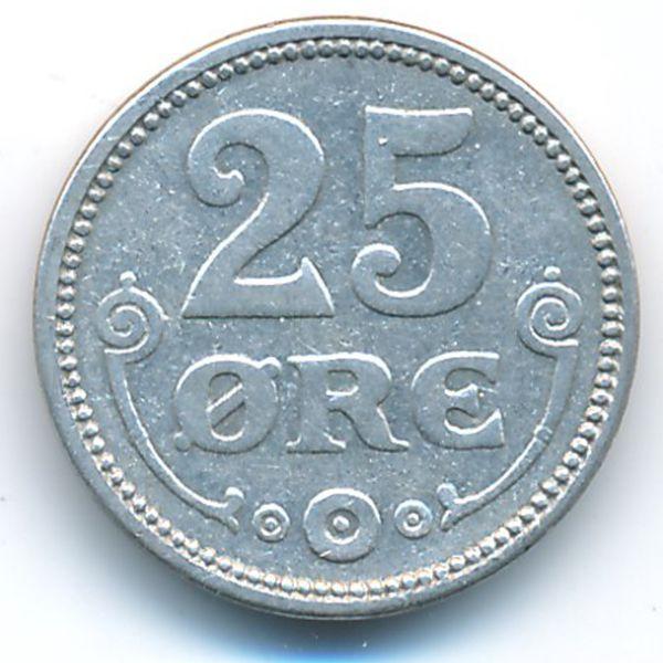 Дания, 25 эре (1915 г.)