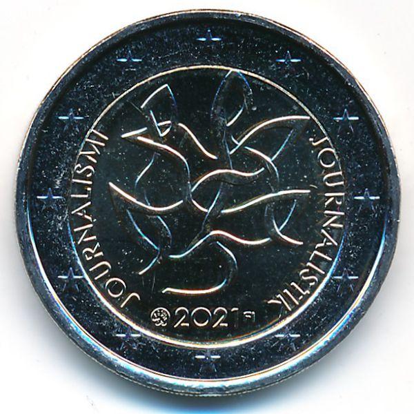 Финляндия, 2 евро (2021 г.)