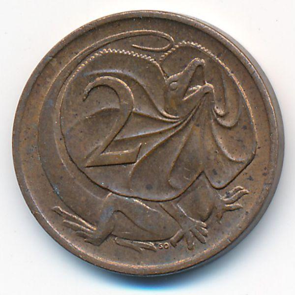 Австралия, 2 цента (1981 г.)