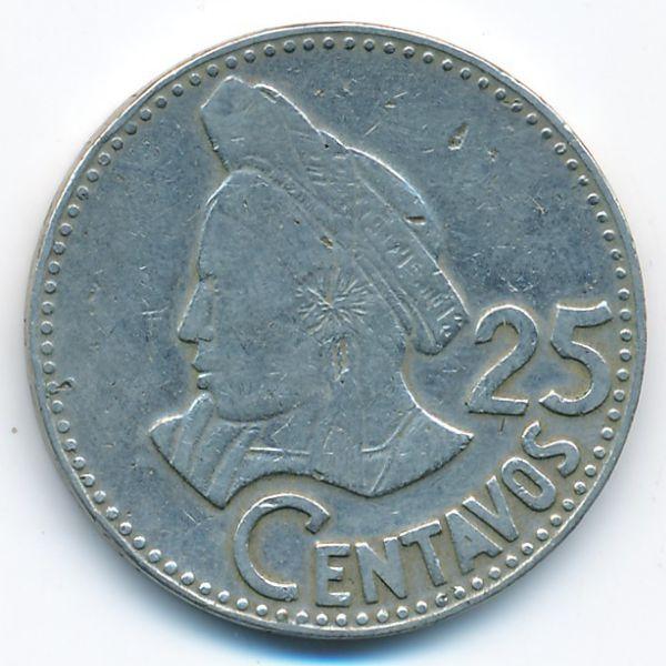 Гватемала, 25 сентаво (1979 г.)