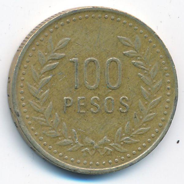 Колумбия, 100 песо (1994 г.)