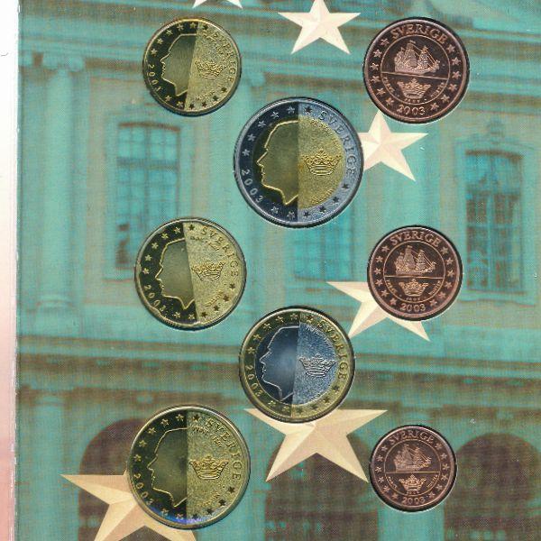 Швеция, Набор монет (2003 г.)