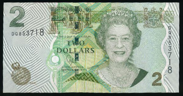 Фиджи, 2 доллара (2011 г.)