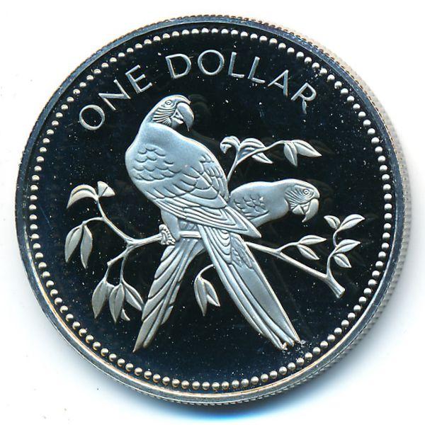 Белиз, 1 доллар (1980 г.)