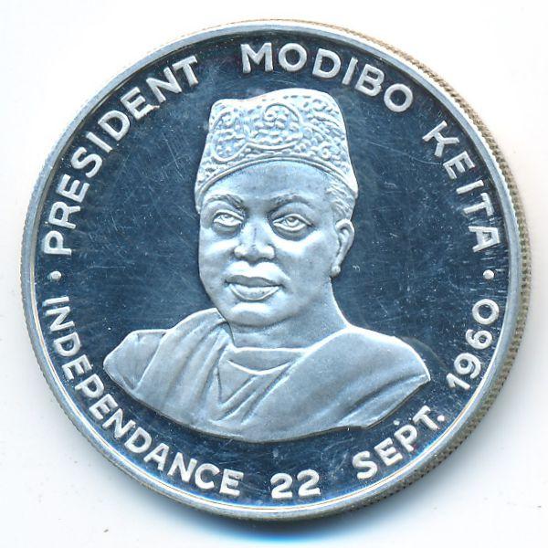 Мали, 10 франков (1960 г.)