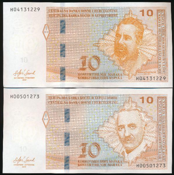 Босния и Герцеговина, Набор банкнот (2019 г.)