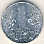 German Democratic Republic, 1 mark, 1956–1963
