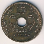 East Africa, 10 cents, 1964
