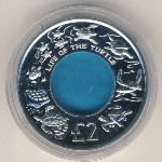 British Indian Ocean Territory, 2 pounds, 2009