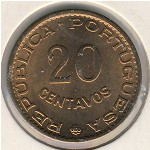 Sao Tome and Principe, 20 centavos, 1962