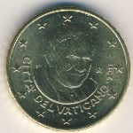 Vatican City, 20 euro cent, 2008–2012