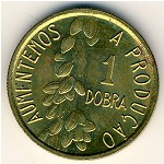 Sao Tome and Principe, 1 dobras, 1977