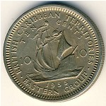 East Caribbean States, 10 cents, 1955–1965