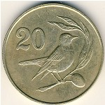 Cyprus, 20 cents, 1983
